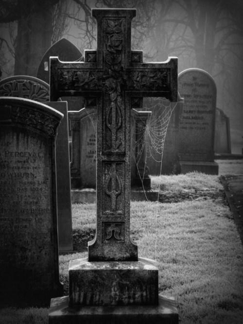 Graveyard in england