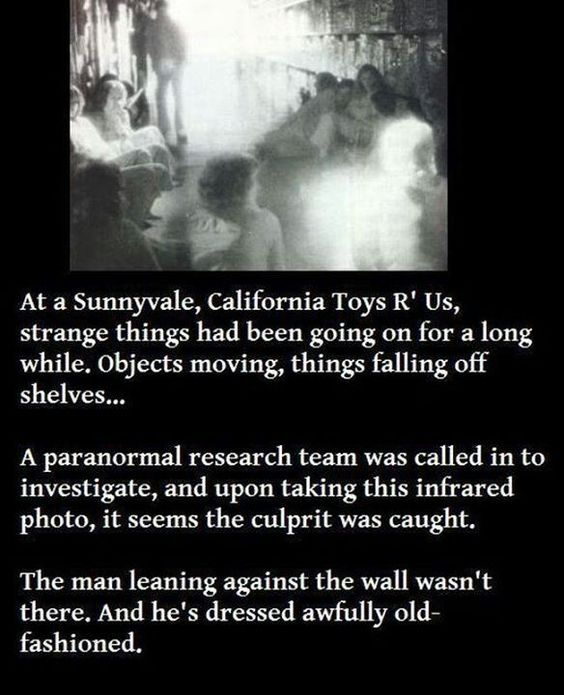 The Ghost at Sunnyvale's Toys R Us