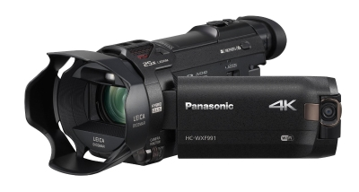 est Night Vision Camcorders for Ghost Hunting - Panasonic HC-WXF991K 4K Ultra HD Camcorder with Wi-Fi, Built with Multi Scene Twin Camera