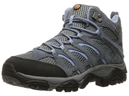 Merrell Women's Moab Mid WTPF Wide Hiking Boot
