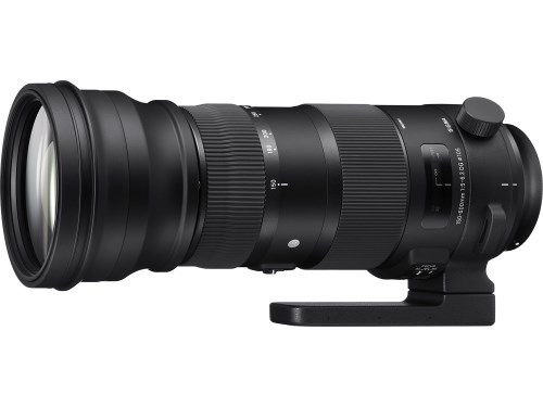 Sigma 150-600mm 5-6.3 Sports DG OS HSM Lens for Nikon - Canon - Sigma mount
