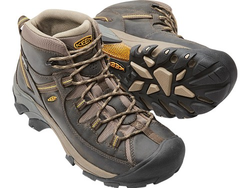 KEEN Men's Targhee II Mid Wide Hiking Shoe 500