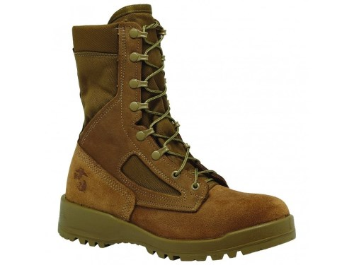 Best Tactical Hiking Boots for Men Top Pick for 2017 - Belleville 500 USMC Waterproof Desert Tan Combat Boot-500