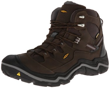 4) KEEN Men's Durand Mid WP Hiking Boot