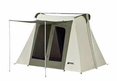 Kodiak Canvas Flex-Bow 4-Person Canvas Tent Deluxe - Best bang for  sc 1 st  Backpackerverse & The Best 4 Person Tent For Camping u0026 Backpacking (2018 Review)