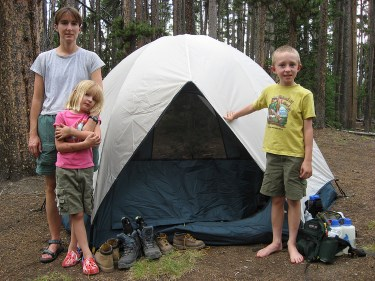 Dome tents come a variety of shapes and sizes