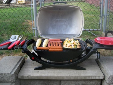 Look for compact grills that offer lots of cooking surface
