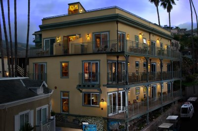 The Avalon Hotel - One of the nicest hotels on Catalina Island