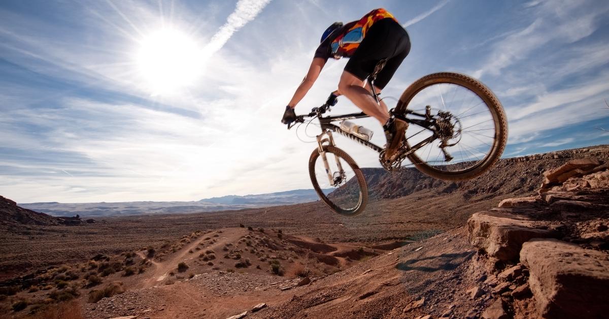 road bike vs mountain bike...