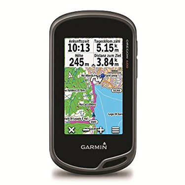 Garmin Oregon 600 - Excellent touchscreen display