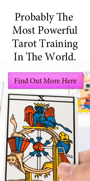 Most powerful tarot training in the world - sidebar
