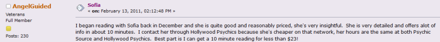 Hollywood Psychics User Reviews and Ratings 2